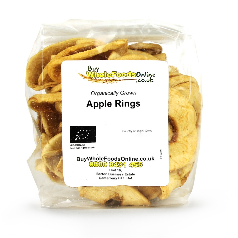 Organic Apple Rings from China.