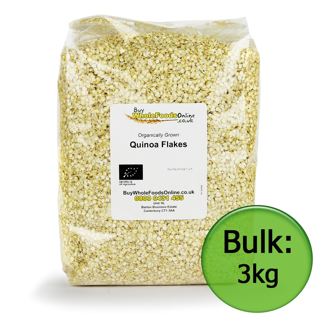 Organic Quinoa Flakes from Netherlands
